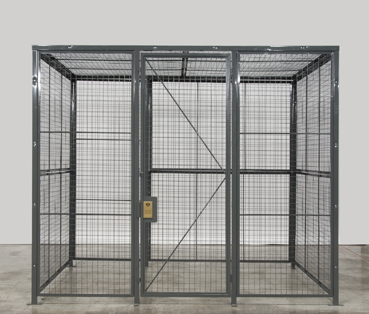Wire Mesh Partitions - Photos