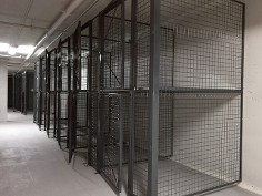 Wire Mesh Partitions - Lockers